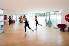 Modern Exercise Room by Batter Kay Associates