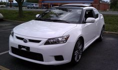 Scion tC Hatchback White Color