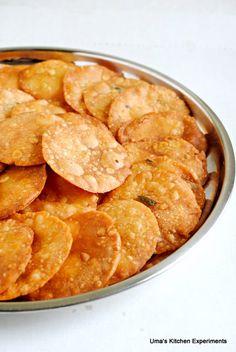 Thattai/Savoury Rice Crackers