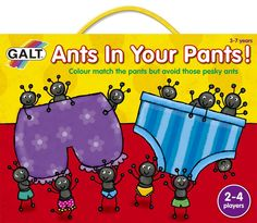 Spurtle Turtle Game. Ants in Your Pants! Board Game