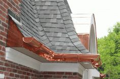 Benefit Of Using Copper Rain Gutter: Great Ideas Copper Rain Gutters ~ Decoration Inspiration
