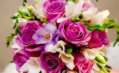 Kytice, fialové kvety, darčeky, Príroda & landsc