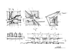 Architecture Portfolio of Khoa Vu Architecture Drawing Sketchbooks, Architecture Concept Drawings, Pavilion Architecture, Architecture Portfolio, Architecture Photo, Architecture Diagrams, Double Negative, Conceptual Sketches, Urban Analysis
