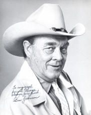 Ben Johnson ~ An American motion picture actor who was mainly cast in Westerns. He was also a rodeo cowboy, stuntman, and rancher.