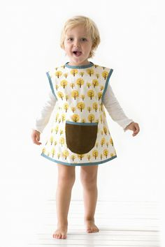 fun fern apron!  Kid's love aprons... perhaps we can start carrying a line of personalized aprons at Makaboo someday.