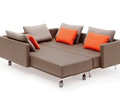 lounge sofa bed by rolf benz centro - Hideabed