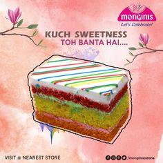 Add color of sweetness to your day with this Rainbow Pastry of Monginis Cake Shop, Odisha Kuch Sweetness Toh Banta Hai❤️!!! Plan this colorful Holi with #Monginis . . #holi #celebration #celebrate #celebrating #bakery #holi2021 #cakeoftheday #cake #cakesofinstagram #cakedesign #festival #occasion #Odisha #Bhubaneswar #Khordha #Cuttack #jatani #Berhampore #talcher #Anugul #Jajpur #Bhadrak #Puri Monginis Cake MONGINIS CAKE | IN.PINTEREST.COM RECIPES EDUCRATSWEB