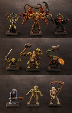 HeroQuest Villains