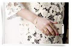 Stylejunkie.dk with our evil eye collection. Bracelet and ring ion gold plated silver