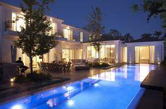 Inspiring Home Design in Israel Blurring Indoor/Outdoor Boundaries  #architecture