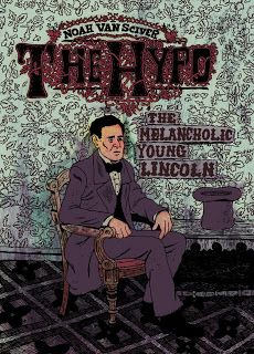 Click the image to visit the University at Buffalo Libraries catalog and learn more about this graphic novel, including library location information. #ublibraries #graphicnovel #historical #abrahamlincoln #president #depression
