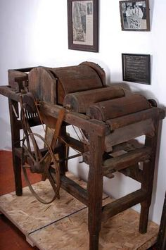 Original Eli Whitney Cotton Gin Lot includes original bill of sale, newspaper… Gin History, Black History, Eli Whitney Cotton Gin, Newspaper Article, Great Inventions, Neo Victorian, Industrial Revolution, Log Homes, Old And New