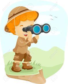 I Spy, Binoculars, Fictional Characters, Fantasy Characters