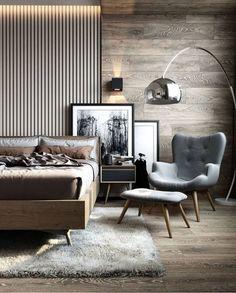 home decor bedroom design Modern Bedroom Design, Master Bedroom Design, Home Decor Bedroom, Master Suite, Bedroom Art, Master Bedrooms, Masculine Master Bedroom, Modern Bedroom Lighting, Modern Master Bedroom