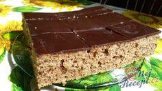 Vynikající ořechový cukeťák s kakaovou polevou