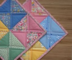 Cute potholders...love the colors!!                                                                                                                                                                                 More