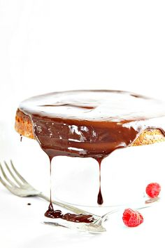 Chocolate Cake with Ganache | bell' alimento