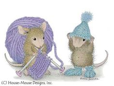 """Amanda and Muzzy"" from House-Mouse Designs®"