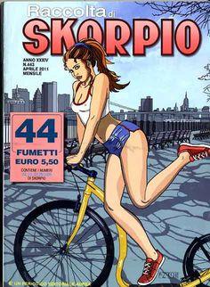 Fumetti EDITORIALE AUREA, Collana SKORPIO RACCOLTA n°443 Aprile 2011