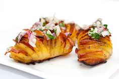 Hedlund Home Cooking: Bacon Hasselback Potatoes