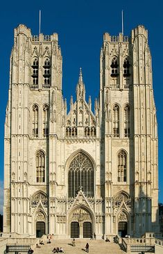 St. Michael and St. Gudula Cathedral, Brussels