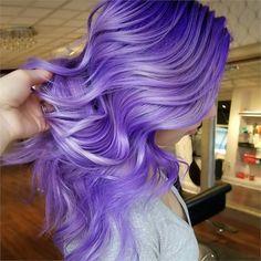 MAKEOVER: Basic Blonde To Purple/Lilac Melt - Hair Color - Modern Salon