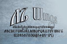 AZ Wings by Artistofdesign on @creativemarket