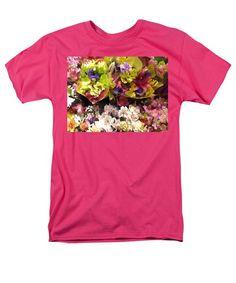 Beautiful Flowers  T-Shirt by Tiana Art