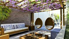Área de descanso confortável e sofisticada!