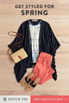 Looking for a new way to shop for women's clothes? Try a Stitch Fix personal stylist and get a box of handpicked clothing sent right to your door. Cute Spring Outfits, Cute Outfits, Beach Outfits, Clothes For Women Over 40, Clothes Women, Stitch Fix Outfits, Over 50 Womens Fashion, Spring Summer Fashion, Spring Style