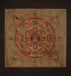 Vicki Shiba Asian and Tribal Art :: Yantra Prayer Cloth