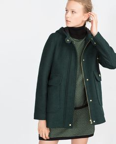 SHORT COAT-View all-Outerwear-WOMAN | ZARA United States