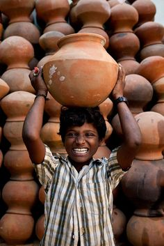 Smile for me! India.