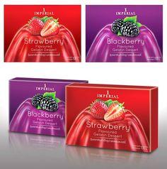 Imperial Gelatin Premium Look...@_@ Imperial Gelatin Dessert packaging designed by Prompt Design