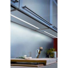Réglette lumineuse pour cuisine (sans transformateur) L62cm Blanc chaud - Link - Les réglettes LED - Appliques et spots - Luminaires - Décoration d'intérieur - Alinéa