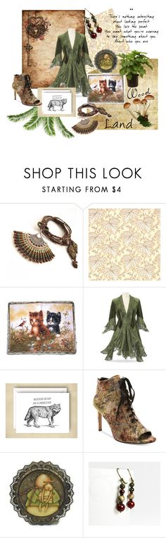 """""""Woodland"""" by seamsvictorian ❤ liked on Polyvore featuring Nanette Lepore"""