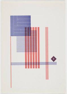 """Piet Zwart, Untitled, 1925, Letterpress, 9 1/2 x 6 3/4"""" (24.0 x 17.0 cm .)"""