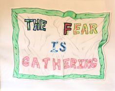 """The Fear is Gathering"" by Joey Veltkamp @Joey Veltkamp #art #drawing #original"