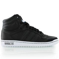 adidas TOP TEN HI noir/noir/blanc bei KICKZ.com