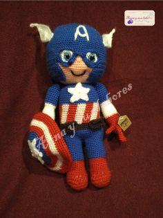 American Captain Amigurumi