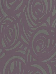 Vortex (110078) - Harlequin Wallpapers - A stunning wallcovering with a swirly design all over showing in deep purple on shimmering metallic silver. Other colour ways available. Please request a sample for true colour match. Paste-the-wall product.