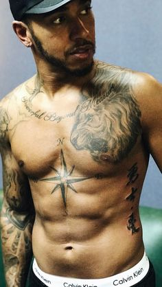Lewis Hamilton on his new tattoo after his Chine Gand Prix Apr 9 2017