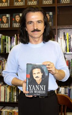 Yanni is blessed with an exceptional gift  ... his beautiful music touches my heart and delights my soul ... I was lucky to meet Yanni at a book signing and feel fortunate to have met someone that I admire so much!  So, lucky me, I have a treasured autographed copy of 'Yanni In Words'!