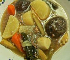 Nishime: a humble Japanese Vegetable Stew