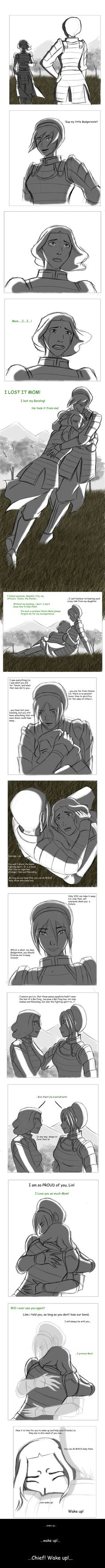 PART 2 - Knowing Destiny - by ~mizzizabellaSMS on deviantART Click pin so you can read what the comic says. My heart is in a billion tiny pieces on the floor.