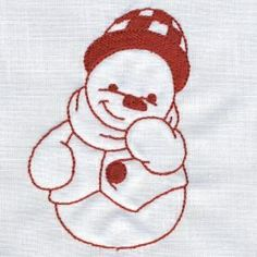 OPW Embroidery - Cozy Corner Embroidery, Snowman