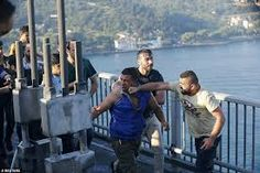 Image result for erdogan supporters attacked soldiers