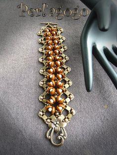 Tutorials accessories, Diagram Bracelet Pumpkin is a orginale creating Bibiche007 on DaWanda
