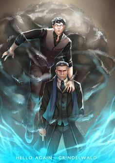 "st00pz: ""Time for payback.""  in which i have a headcanon where both real Graves and Credence survived; Graves ended up teaching Credence magic and he managed to control his Obscurus, they're tasked to team up together and they fuck up Grindelwald real bad because reasons.  I'm a Graves trash bye"