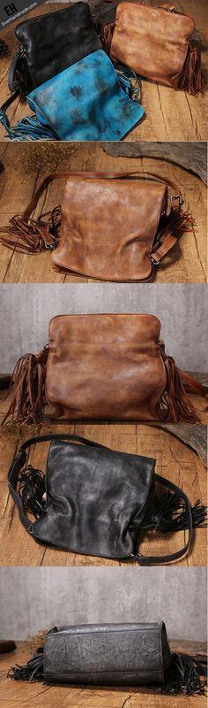 Handmade Leather purse shoulder bag for women leather